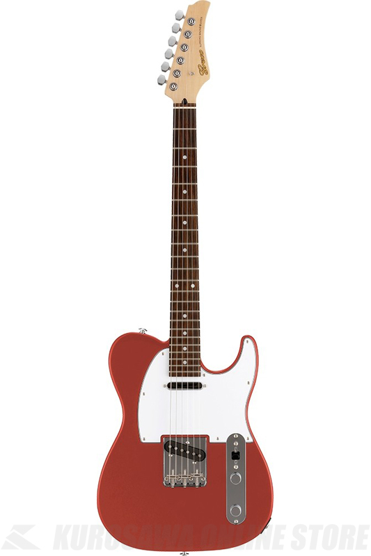 Greco WST-STD (Vermillion / Rosewood Fingerboard) 《エレキギター》【日本製】【送料無料】