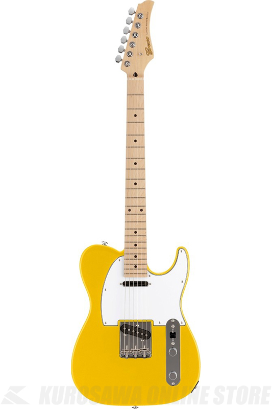 Greco WST-STD (Yellow / Maple Fingerboard) 《エレキギター》【日本製】【送料無料】