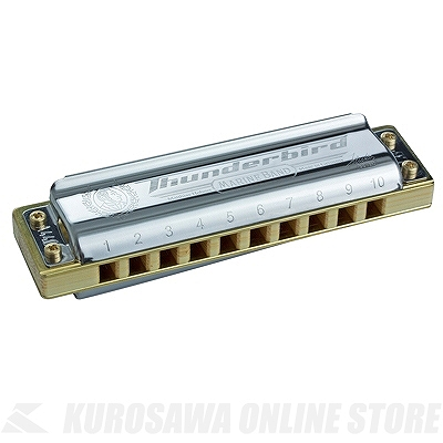Hohner Marine Band Thunderbird【Low-G調】《ブルースハープ》【送料無料】