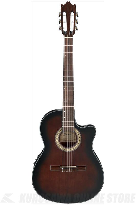 Ibanez GA30TCE-DVS (Dark Violin Sunburst) (クラシックギター/エレガット)(送料無料)