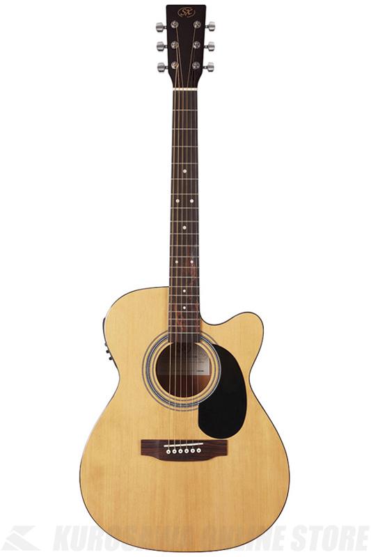 【正規販売店】 SX SD2-CE-NA《アコースティックギター SX/エレアコ》【お求めやすい初心者アコギ】【送料無料】, イナシ:f74770de --- fencepanelgrips.co.uk