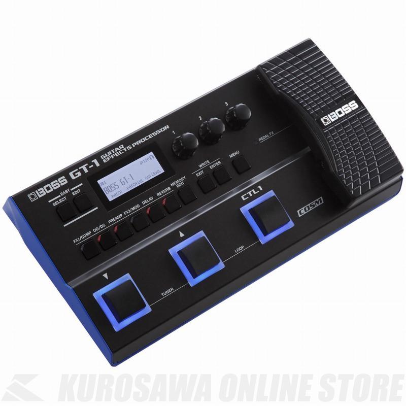 Effects Guitar Processor GT-1 《マルチエフェクター》【送料無料】(ご予約受付中) BOSS