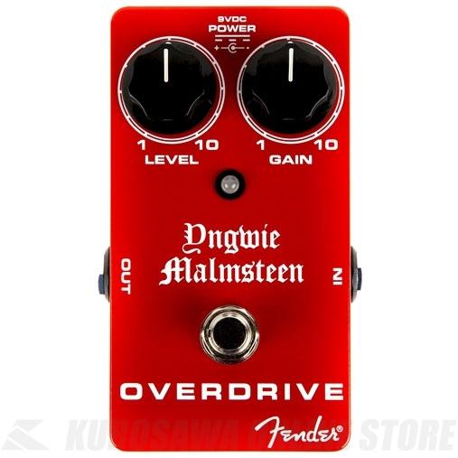 【超目玉】 Fender Yngwie Malmsteen Pedal Overdrive Malmsteen Pedal 《エフェクター/オーバードライブ》 Yngwie【送料無料】, win-to-winセレクトショップ:b574a1af --- clftranspo.dominiotemporario.com