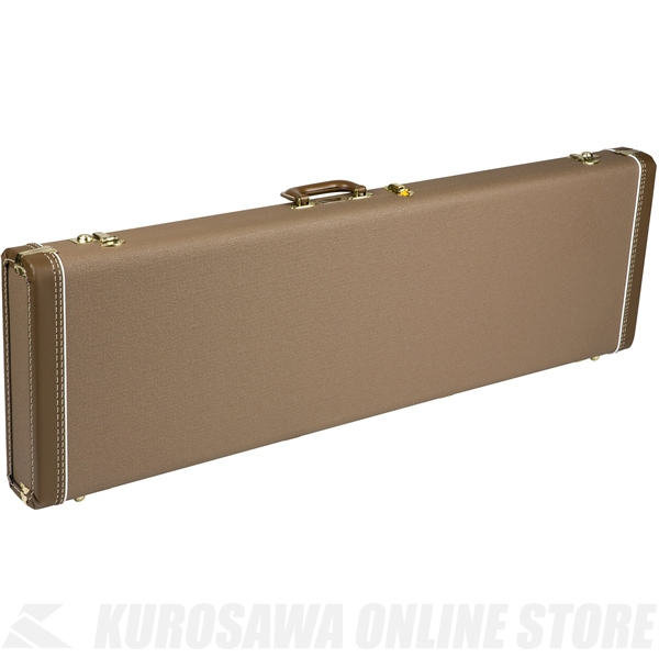 Fender Precision Bass Multi-Fit Hardshell Cases (Brown with Gold Plush Interior)《ベース用ハードケース》【送料無料】