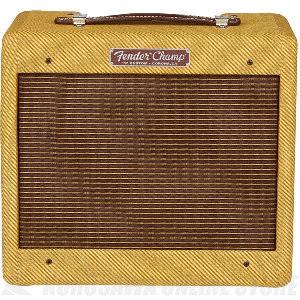 値頃 Fender '57 Custom Champ (Lacquered Custom Champ Tweed)《ギターアンプ/コンボアンプ》【送料無料】 '57【ご予約受付中】, 電脳眼鏡:c7bfbb98 --- clftranspo.dominiotemporario.com