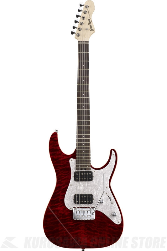 GrassRoots G-MR-45R (See Thru Red) 《エレキギター》【送料無料】