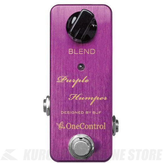 <title>エフェクター 《ワンコントロール》 One Control Purple Humper 時間指定不可 Booster 《エフェクター ブースター》 送料無料</title>