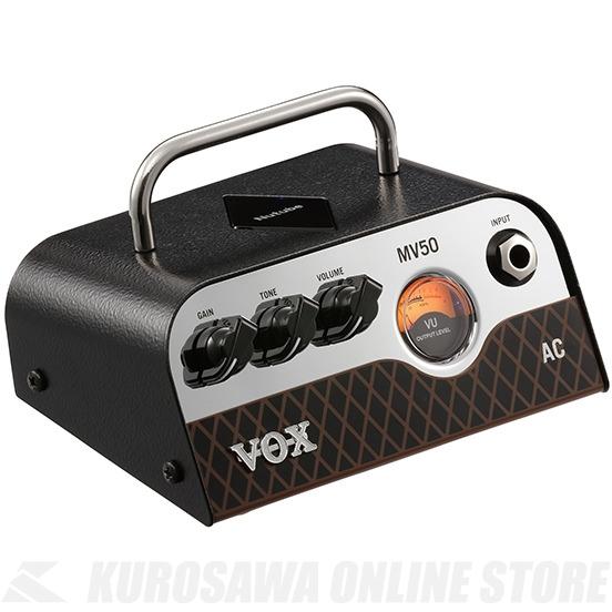 VOX Nutube搭載ヘッド・アンプ MV50-AC 《ギターアンプ/ヘッドアンプ》 【送料無料】【ONLINE STORE】