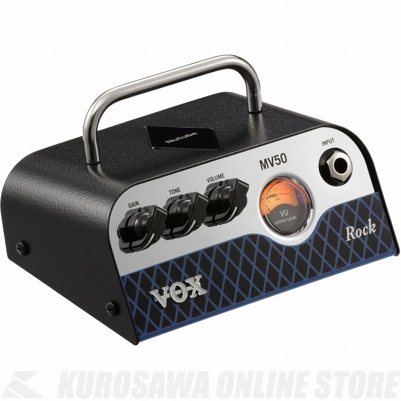 VOX Nutube搭載ヘッド・アンプ MV50-CR 《ギターアンプ/ヘッドアンプ》 【送料無料】