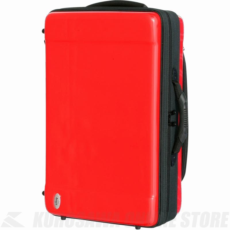 bags EF4TR RED (レッド)(トランペット4本用ファイバーケース)(送料無料)(ご予約受付中)