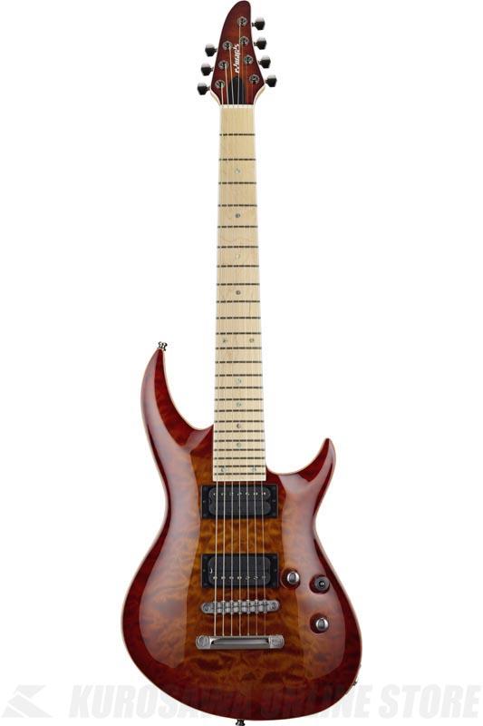 【超目玉枠】 EDWARDS Original Series Original E-HR-III EDWARDS NT7 QM/M Antique Cherry Series Sunburst (エレキギター/7弦ギター) (送料無料), リアルシステム1号店:62adde84 --- gerber-bodin.fr