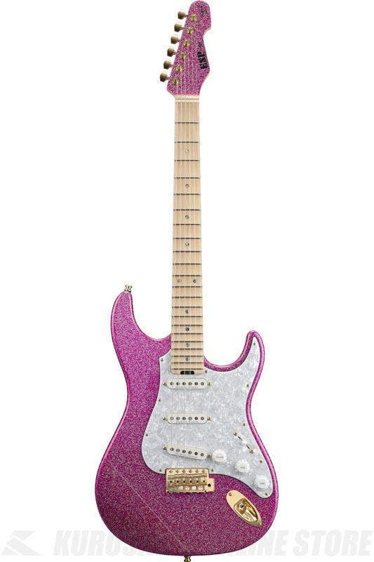 ESP SNAPPER Ohmura Custom 大村孝佳 model (Twinkle Pink/Maple) (エレキギター)(受注生産品)