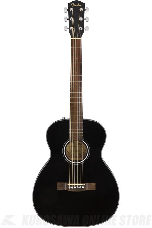 肌触りがいい Fender CT-60S BLK Black (アコースティックギター) (送料無料), 【国内即発送】 6d910090