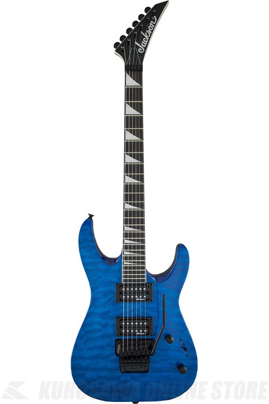 Jackson JS Series JS32Q DKA Dinky Arch Top Transparent Blue(エレキギター)(ご予約受付中)