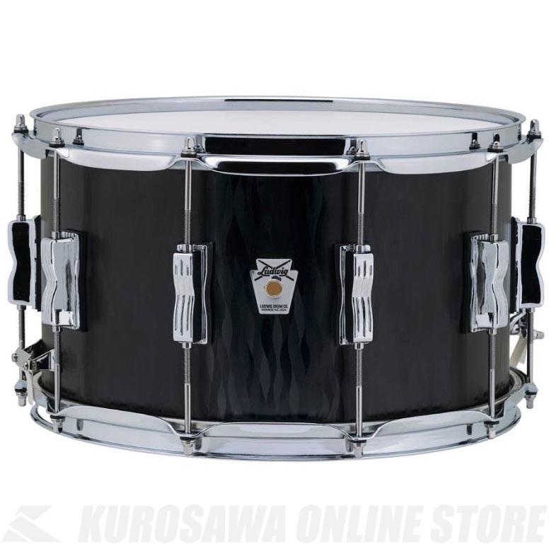 Ludwig Standard Maple Series LKS784XXBF Black Flame《スネアドラム》【送料無料】(ご予約受付中)