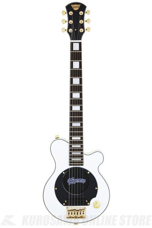 Pignose PGG-259 WH 《スピーカー内蔵エレキギター》 【送料無料】