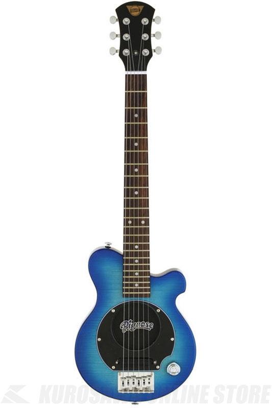 Pignose PGG-200FM SBL(See-through Blue) 《スピーカー内蔵エレキギター》 【送料無料】(ご予約受付中)