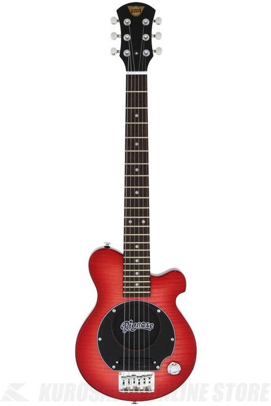 Pignose PGG-200FM SR(See-through Red) 《スピーカー内蔵エレキギター》 【送料無料】(ご予約受付中)