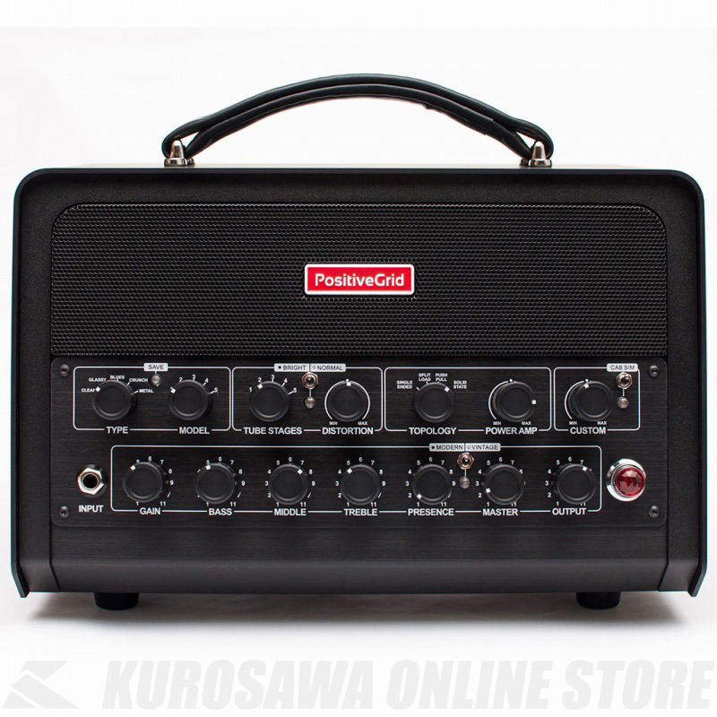 Positive Grid BIAS Head DSP AMP MATCH PRE AMPLIFIER (モデリングプリアンプ)(送料無料)