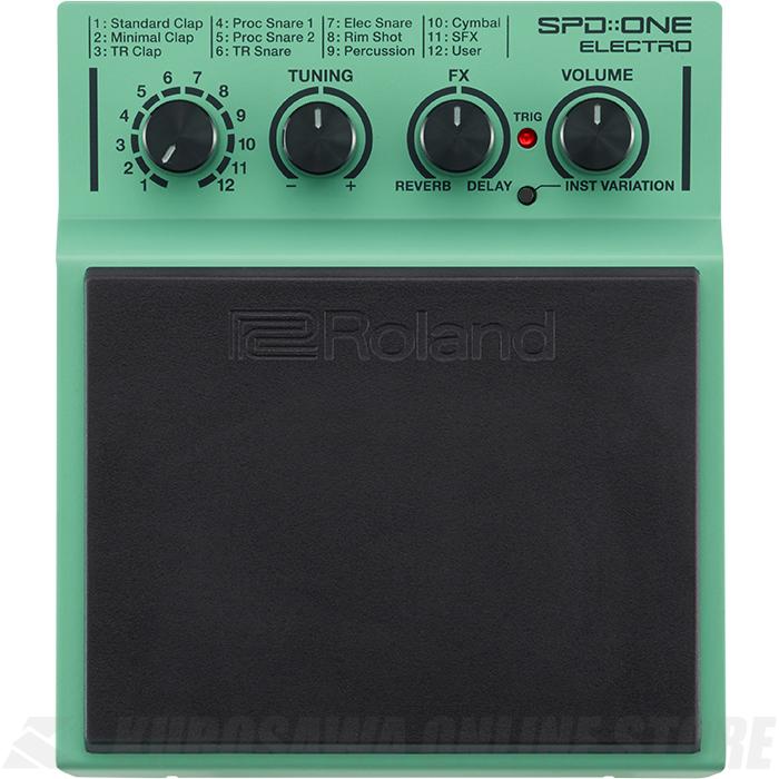Roland SPD::ONE Series SPD-1E Electro (パーカッションパッド)(送料無料)(6月24日発売・ご予約受付中)
