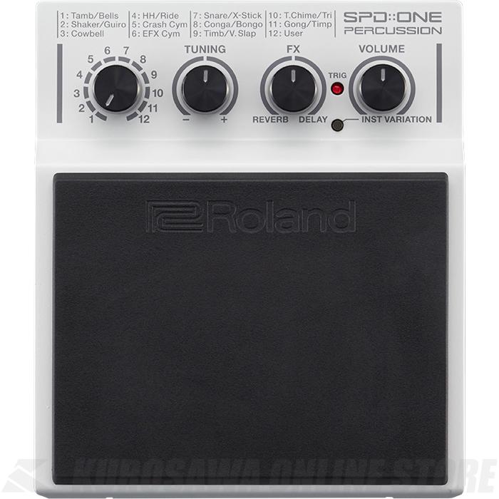 Roland SPD::ONE Series SPD-1P Percussion (パーカッションパッド)(送料無料)(6月24日発売・ご予約受付中)