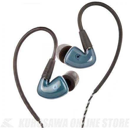 Audiofly In-Ear Monitors AF180 Stone Blue [AF1801-0-03] (インナーイヤー型イヤフォン)(送料無料)