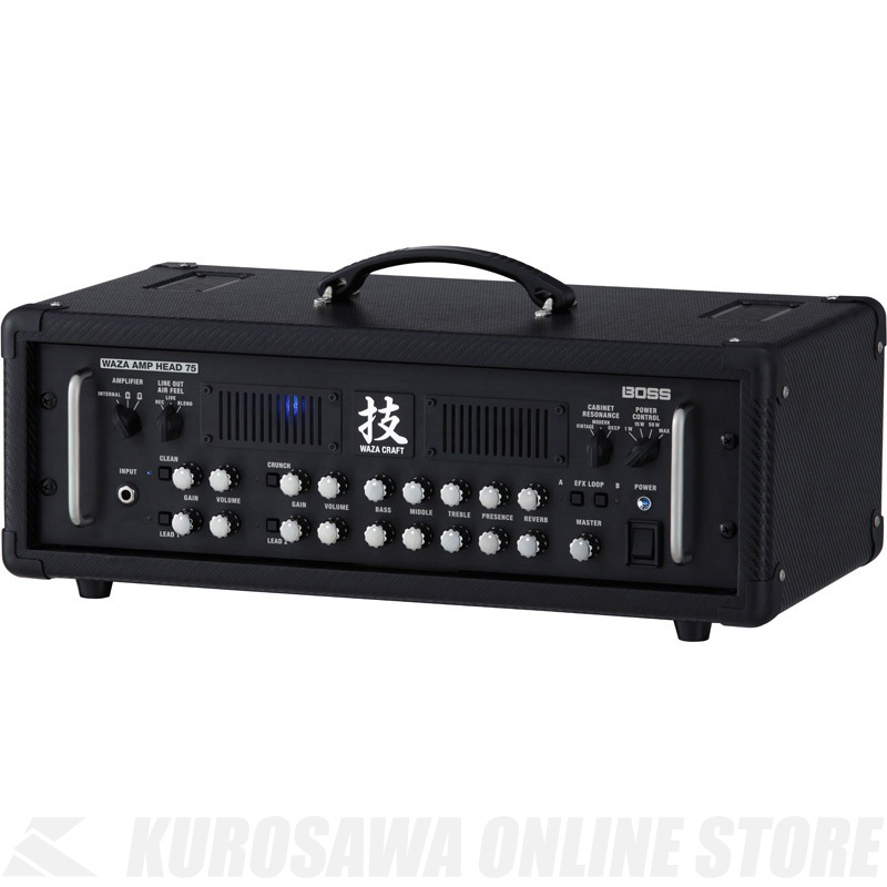 BOSS 技WAZA CRAFT WAZA-HD75 (ギターアンプ/ヘッドアンプ)(7月29日発売・ご予約受付中)