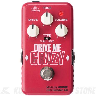 【高知インター店】 EBS Drive Drive Me (送料無料) Crazy Crazy (エフェクター/ディストーション) (送料無料), ホロイズミグン:273662f9 --- canoncity.azurewebsites.net