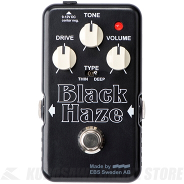 誕生日プレゼント EBS Black EBS Haze Black Haze (エフェクター/オーバードライブ) (送料無料), SPEED AUTO PARTS:1e5e742c --- canoncity.azurewebsites.net