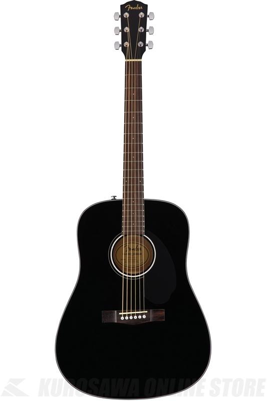 Fender CD-60S, Black [0961701006] (アコースティックギター)(送料無料)