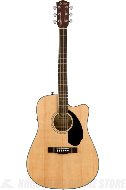 Fender CD-60SCE, Natural [0961704021] (アコースティックギター)(送料無料)