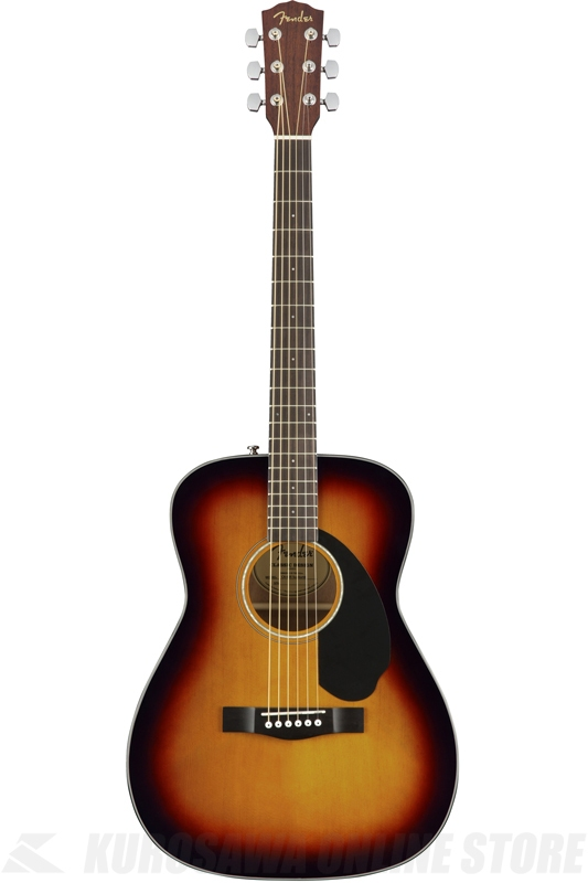 Fender CC-60S, 3-Color Sunburst [0961708032] (アコースティックギター)(送料無料)