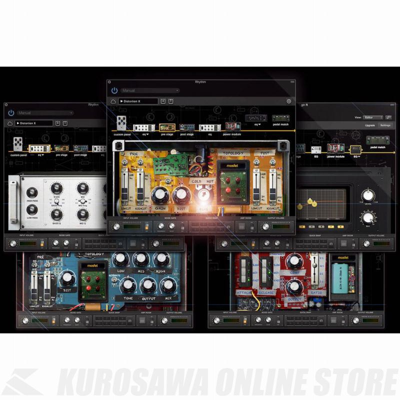 Positive Grid BIAS Pedal Distortion (ソフトウェア)(シリアルメール納品)(送料無料)