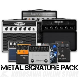 Positive Grid BIAS FX Metal Signature Pack (ソフトウェア)(シリアルメール納品)(送料無料)