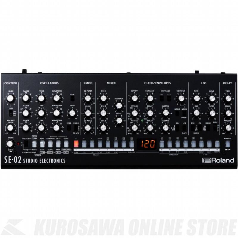 Roland SE-02 (アナログ・シンセサイザー)(ご予約受付中)