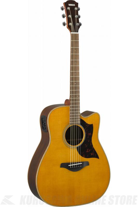 Yamaha A series Aシリーズ A1R VN ヴィンテージナチュラル (アコースティックギター/エレアコ)(送料無料)