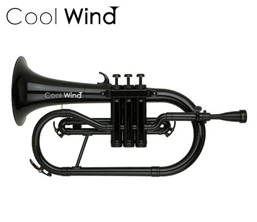 Cool Wind FH-200 BLK ブラック (プラスチック製フリューゲルホルン)(送料無料)(ご予約受付中)