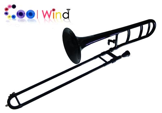 Cool Wind TB-100W BLK ブラック (プラスチック製テナートロンボーン)(送料無料)