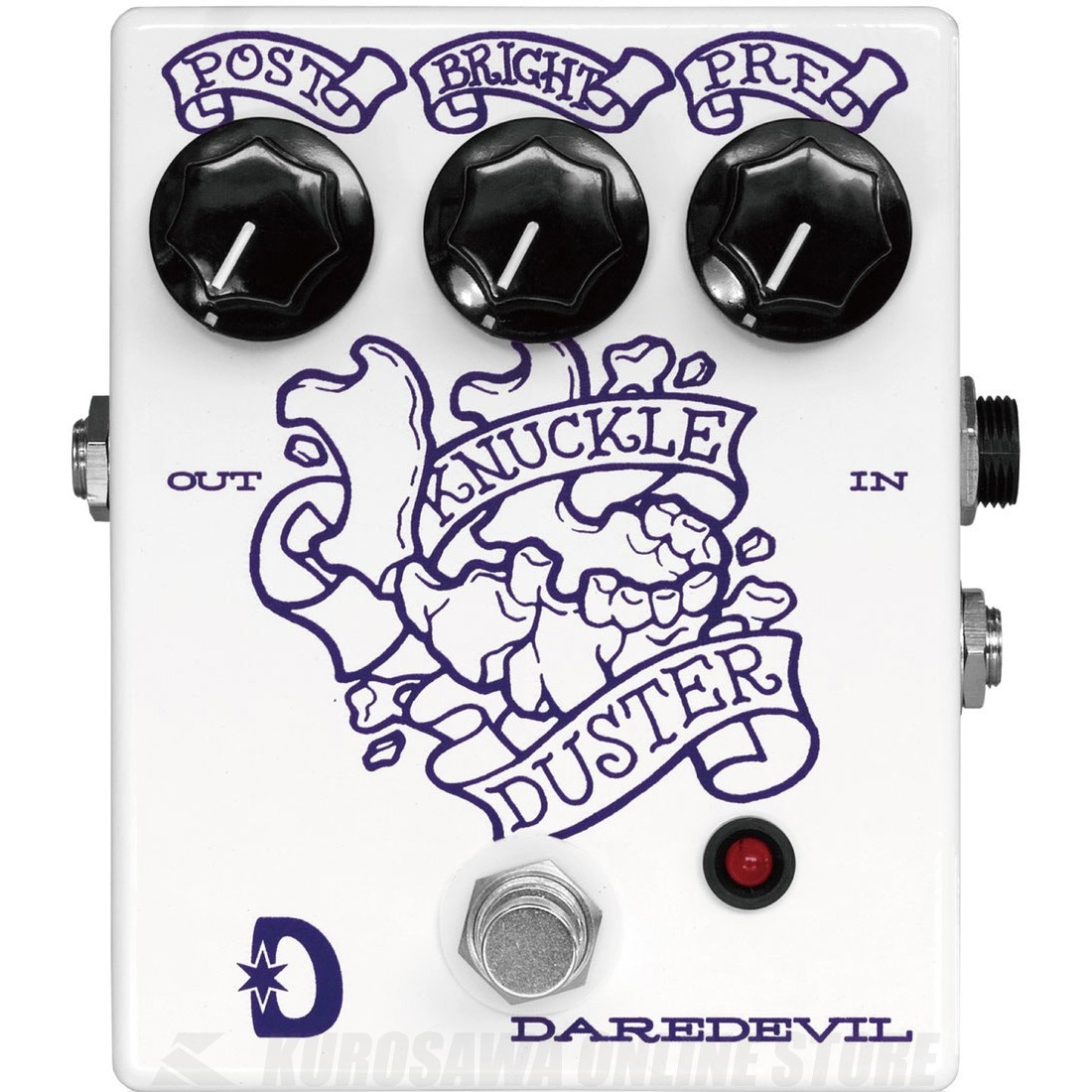 Daredevil Pedals Knuckle Duster (エフェクター/オーバードライブ)(送料無料)