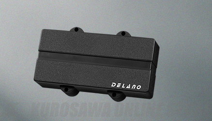 Delano Pickup Double J-Bass type replacement pu for Warwick basses DJC 4 HE/M2 (ベース用ピックアップ)(送料無料)