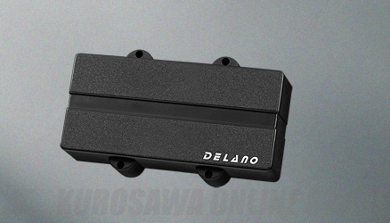 Delano Pickup Double J-Bass type replacement pu for Warwick basses DJC 5 HE (ベース用ピックアップ)(送料無料)