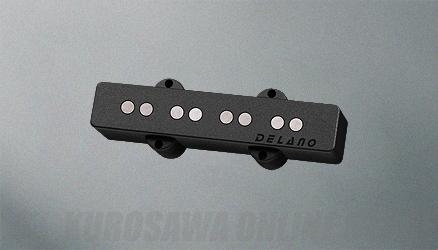 Delano Pickup JC-AL Pickup Series (Single/Bridge) JC 4 AL (ベース用ピックアップ)(送料無料)