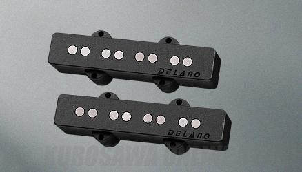 Delano Pickup JC-AL Pickup Series (Set) JC 4 AL/M2 (ベース用ピックアップ)(送料無料)