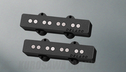 Delano Pickup JC-AL Pickup Series (Set) JC 4 AL (ベース用ピックアップ)(送料無料)