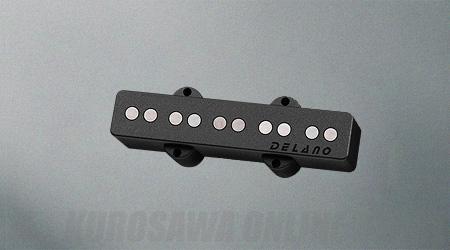 Delano Pickup JC-AL Pickup Series (Single/Neck) JC 5 AL (ベース用ピックアップ)(送料無料)