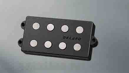 Delano Pickup MC-AL pickup series MM style 4 string pu AlNiCo 5 magnets MC 4 AL-V4 parallel wired vintage style (ベース用ピックアップ)(送料無料)