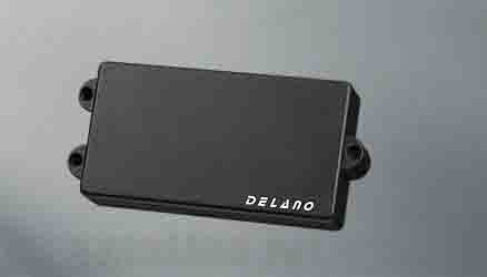 Delano Pickup MC-HE pickup series MM style 4 string pu MC 4 HE/S (ベース用ピックアップ)(送料無料)