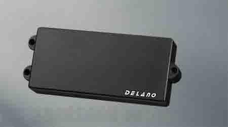 Delano Pickup MM style 6 string pu MC 6 HE (ベース用ピックアップ)(送料無料)