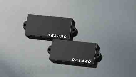 Delano Pickup PC-HE pickup series P-Bass type PC 4 HE / M2 (ベース用ピックアップ)(送料無料)
