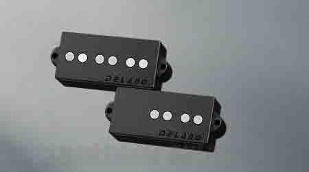 Delano Pickup PC-AL pickup series P- Bass style pu - AlNiCo 5 magnets PC 5 AL / M2 (ベース用ピックアップ)(送料無料)